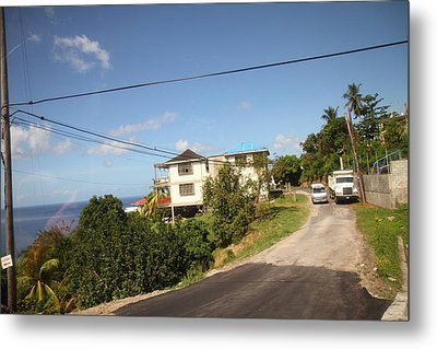 Caribbean Cruise - Dominica - 121230 Metal Print by DC Photographer