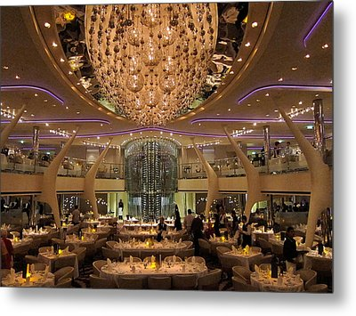 Caribbean Cruise - On Board Ship - 1212135 Metal Print