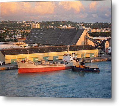 Caribbean Cruise - On Board Ship - 1212143 Metal Print by DC Photographer