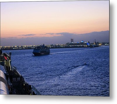 Caribbean Cruise - On Board Ship - 121226 Metal Print