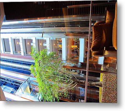 Caribbean Cruise - On Board Ship - 121294 Metal Print by DC Photographer