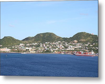 Caribbean Cruise - St Kitts - 1212108 Metal Print by DC Photographer