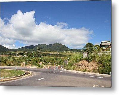 Caribbean Cruise - St Kitts - 1212144 Metal Print by DC Photographer