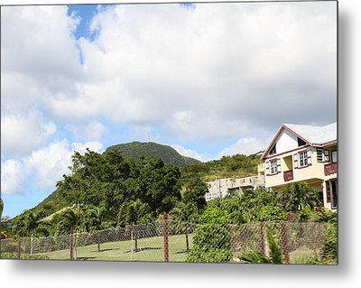 Caribbean Cruise - St Kitts - 1212146 Metal Print by DC Photographer