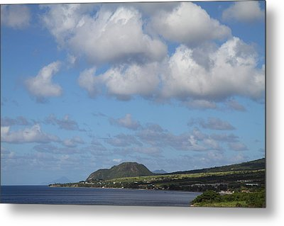 Caribbean Cruise - St Kitts - 1212156 Metal Print by DC Photographer