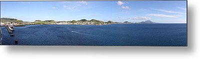 Caribbean Cruise - St Kitts - 12125 Metal Print by DC Photographer