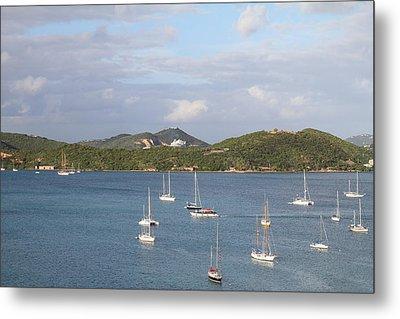 Caribbean Cruise - St Thomas - 121215 Metal Print by DC Photographer