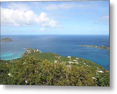 Caribbean Cruise - St Thomas - 1212226 Metal Print by DC Photographer