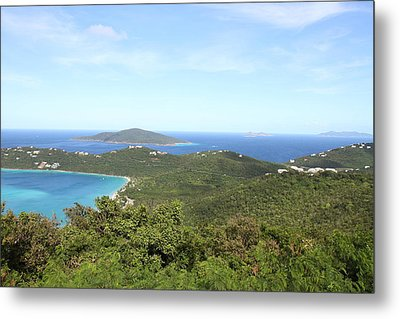 Caribbean Cruise - St Thomas - 1212240 Metal Print by DC Photographer