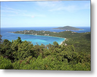 Caribbean Cruise - St Thomas - 1212243 Metal Print by DC Photographer