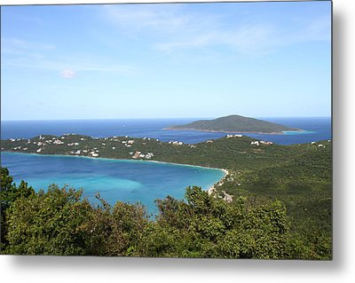 Caribbean Cruise - St Thomas - 1212246 Metal Print by DC Photographer