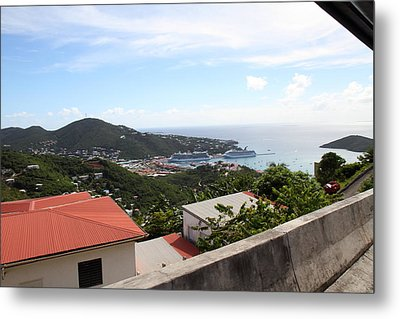 Caribbean Cruise - St Thomas - 1212254 Metal Print