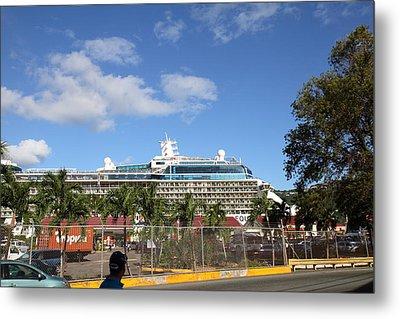 Caribbean Cruise - St Thomas - 121226 Metal Print