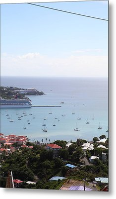 Caribbean Cruise - St Thomas - 1212283 Metal Print by DC Photographer