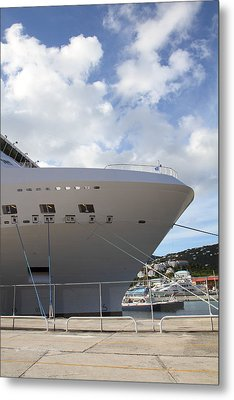 Caribbean Cruise - St Thomas - 1212299 Metal Print by DC Photographer