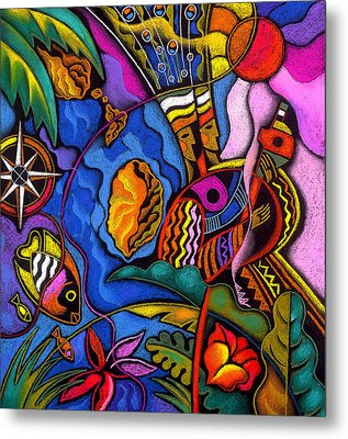 Caribbean Metal Print by Leon Zernitsky