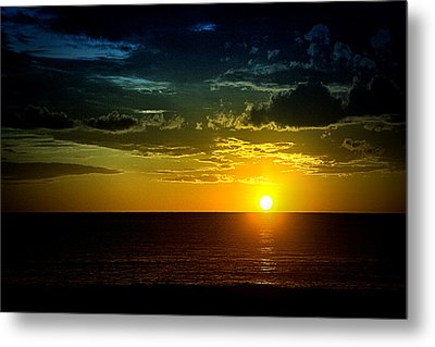 Metal Print featuring the photograph Caribbean Sunset ... by Chuck Caramella