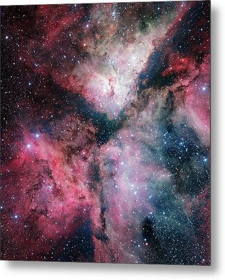 Carina Nebula Metal Print by European Southern Observatory