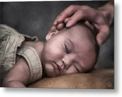 Caring Hands Metal Print by Gun Legler