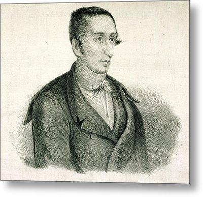 Carl Maria Von Weber Metal Print