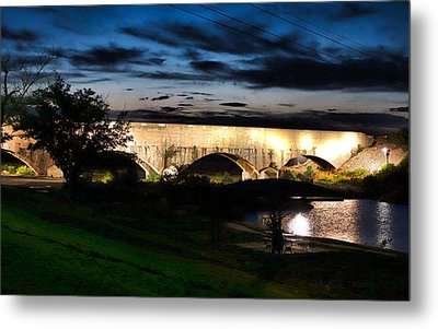 Carlsbad Flume At Dusk Metal Print