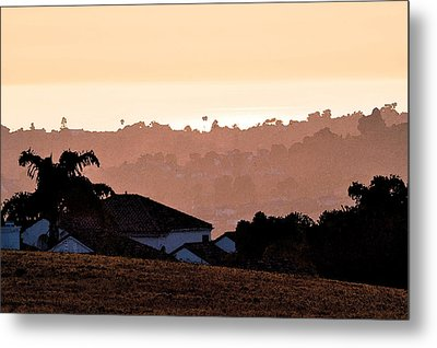Metal Print featuring the digital art Carlsbad Sunset by Kirt Tisdale