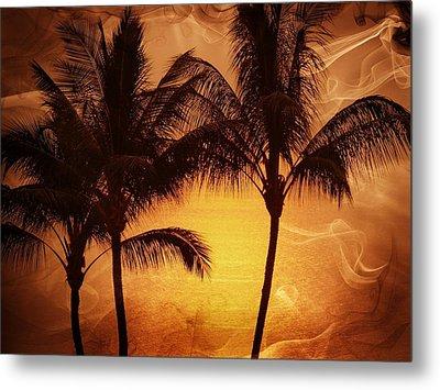 Carmel Sunset Metal Print by Athala Carole Bruckner