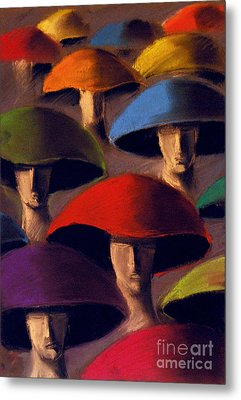Carnaval Metal Print by Mona Edulesco