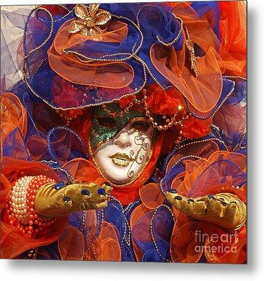 Carnevale Di Venezia 21 Metal Print