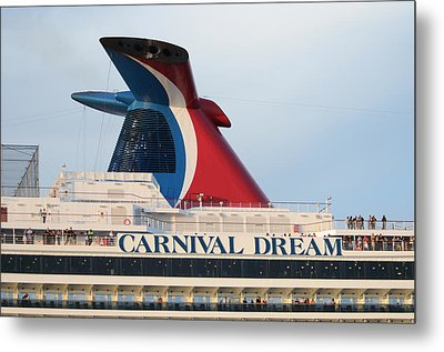 Carnival Dream Smokestack Metal Print