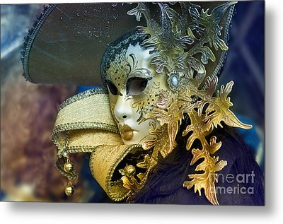 Carnival In Venice 18 Metal Print by Design Remix