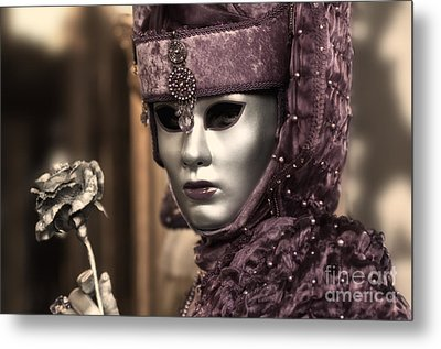 Carnival In Venice 19 Metal Print by Design Remix