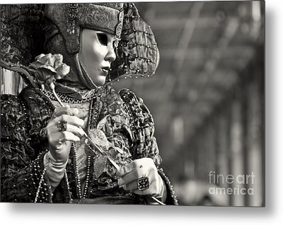 Carnival In Venice 2 Metal Print by Design Remix