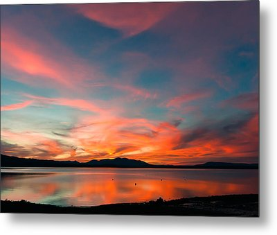 Metal Print featuring the photograph Carnival Sky by Jan Davies