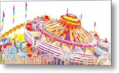 Metal Print featuring the photograph Carnival Sombrero by Marianne Dow