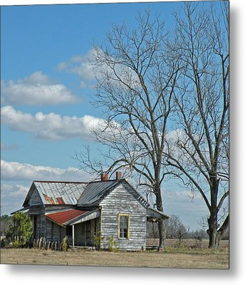 Carolina Farm House Metal Print