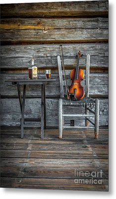 Carolina Fiddl'n Metal Print by Marion Johnson