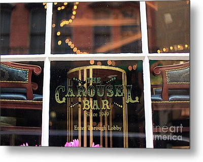 Carousel Bar Metal Print by Heather Green