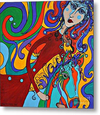 Carousel Dance Metal Print