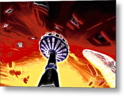 Carousel Metal Print by Lars Tuchel