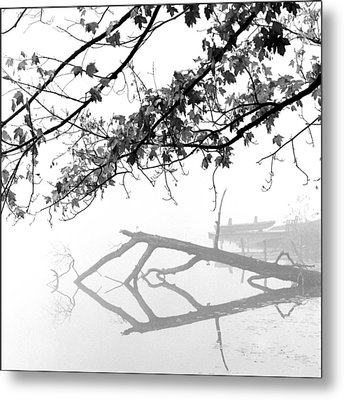 Carpenter Lake Morning Metal Print by Wendell Thompson