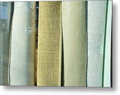 Carpet Shop Metal Print by Tom Gowanlock