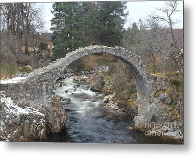 Carrbridge - Scotland Metal Print by David Grant