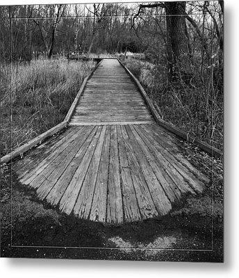 Carriage Hill Boardwalk A Metal Print