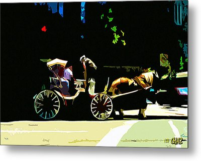 Carriage Ride Metal Print by CHAZ Daugherty