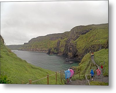 Carrick-a-rede Northern Ireland Metal Print