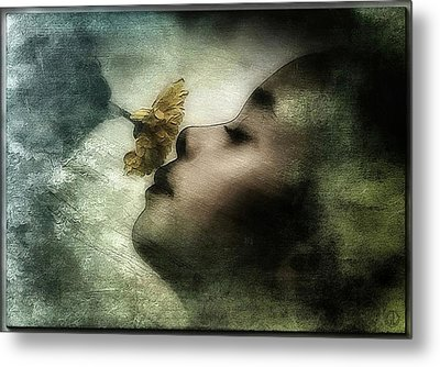 Carried Away By A Scent Metal Print by Gun Legler
