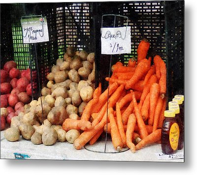 Carrots Potatoes And Honey Metal Print