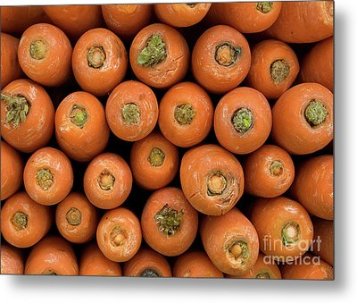 Carrots Metal Print by Rick Piper Photography