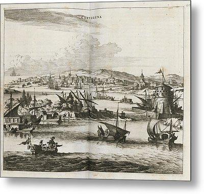 Cartagena Metal Print by British Library